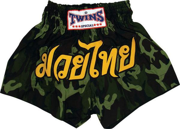Twins Twins Thai Style Trunks Army Camo